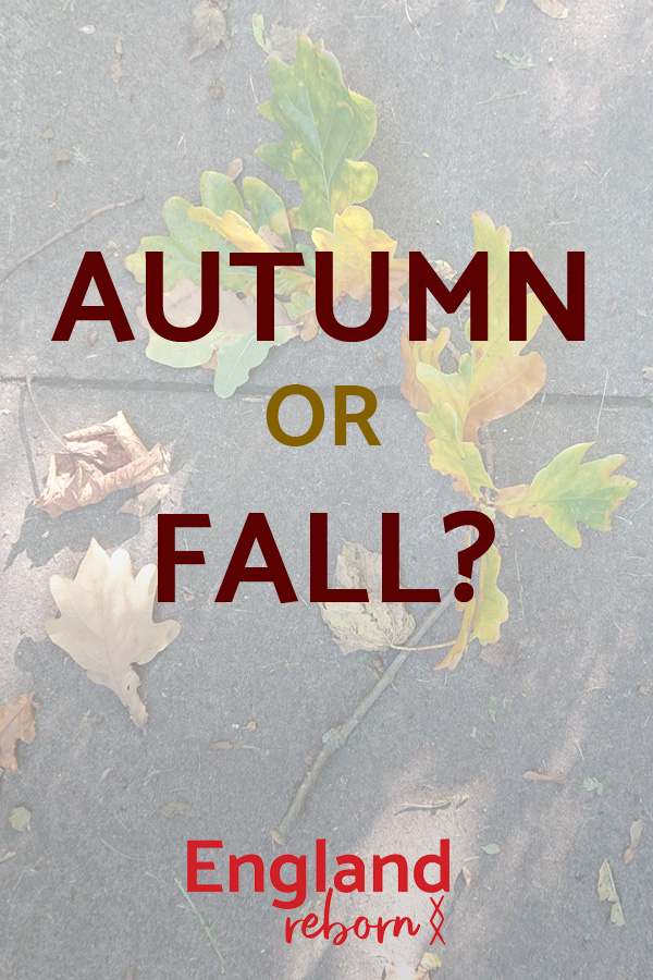 Autumn or fall? Which is better?