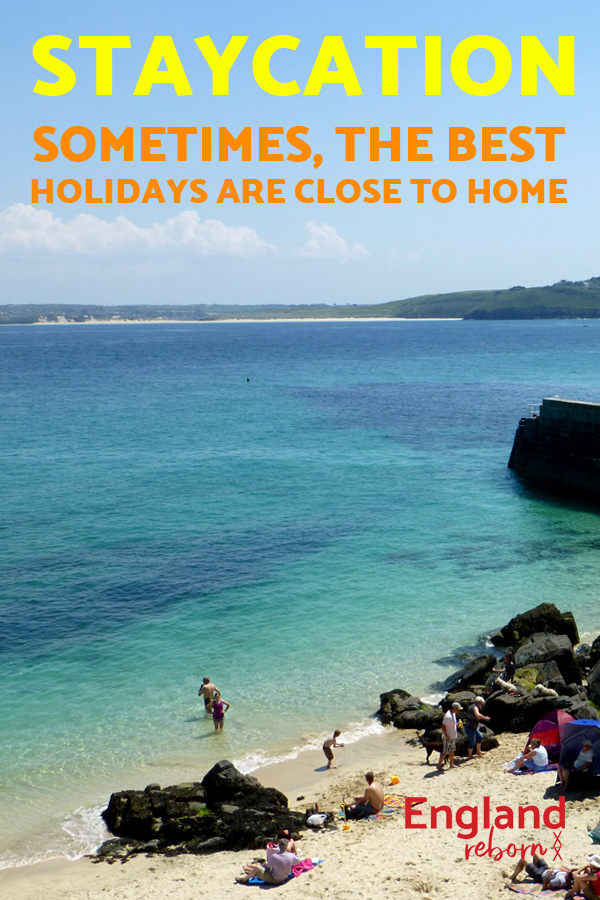 quotes - lifestyle, Staycation - have a great holiday at home, don't go abroad