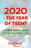 Is 2020 the year for new technology?